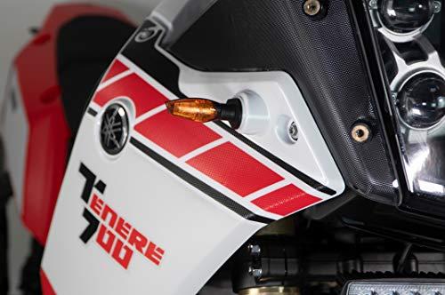 Uniracing K48847 Off Road Scratch Saver Tenere 700 2019-20. Zijkit, Clear-Black Yamaha