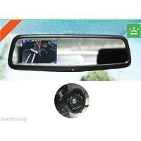 """Ford Twist Mount 3.5"""" Rear View Mirror w/ Camera Display Echomaster FM-35R-TM"""