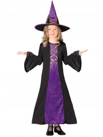 Disfraz de Bruja Largo para niña: Amazon.es: Ropa y accesorios
