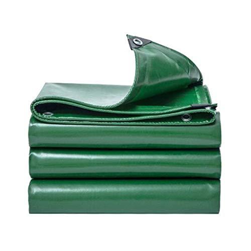 Yuke Wasserdichte Dicke grüne Plane für den Außenbereich, 530 g m², schwere Plane mit MeGrößeugen, Multi-Größe-Auflistung (größe   2x2m)