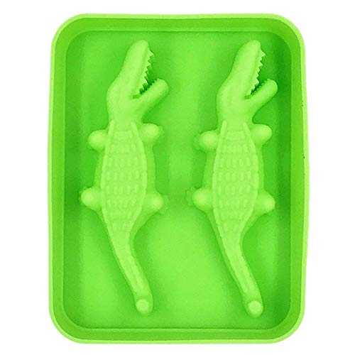 Crocodile Grids Small Ice Maker Tiny Ice Cube Trays Chocolate Mold Mould Maker Molds for Kitchen Bar Party Drinks with Variety Color