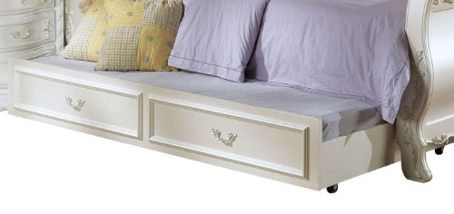 ACME 01008 Pearl Trundle, Pearl White (Pearl Twin Sleigh)
