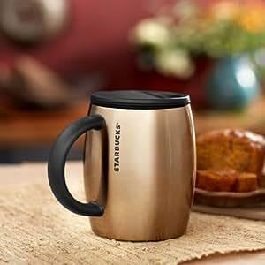 Amazon Com Starbucks Desktop Coffee Tumbler Cup Mug 14 Oz