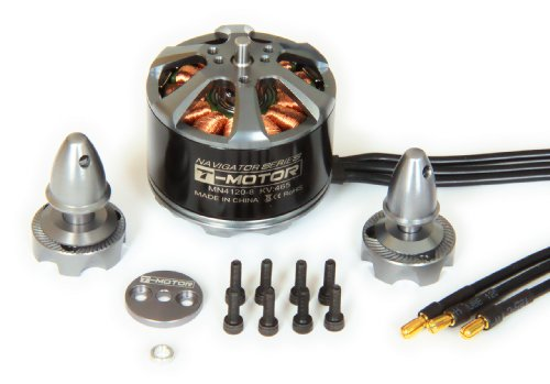 T-MOTOR MN4120 KV465 High-Performance Brushless Electric Motor for Multi-Rotor Aircraft