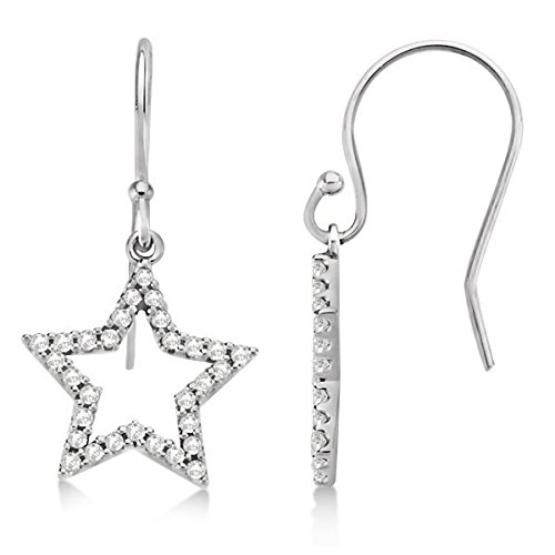 0.34 Ct Diamond Dangle - 4