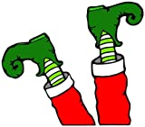 Footloose Elf Santa's Little Helper Legs Automotive
