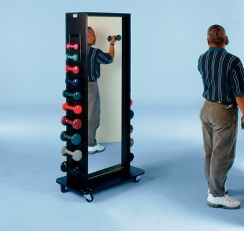 DSS Combination Weight Rack with Mirror (Accessorized Multi-Purpose)