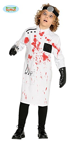 Guirca Children's Halloween Mad Scientist Killer Doctor Costume ~ Medium -