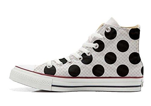 Converse a Schuhe Schuhe Star Hi Pois personalisierte Customized All Handwerk rCrAwqg