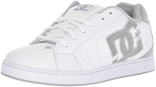 Light White Mens Net Grey Shoe D 8 US White DC Skate SE x7UqB0
