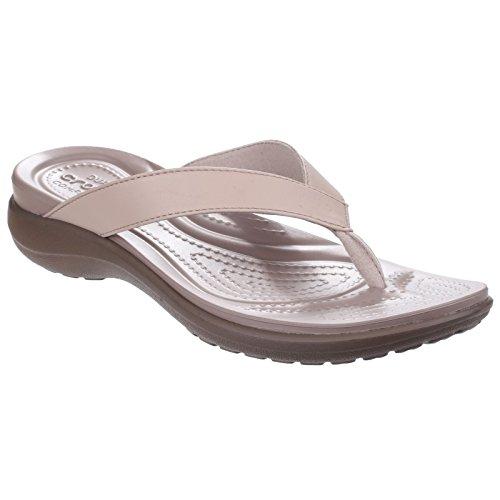Crocs Womens/Ladies Capri V Summer Flip Flops (5 US) (Cha...