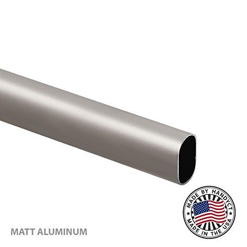 Oval Aluminum Tube - 7