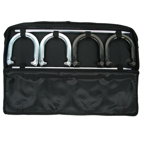 Trademark Games Horseshoe Set with Carrying Case by Trademark Global