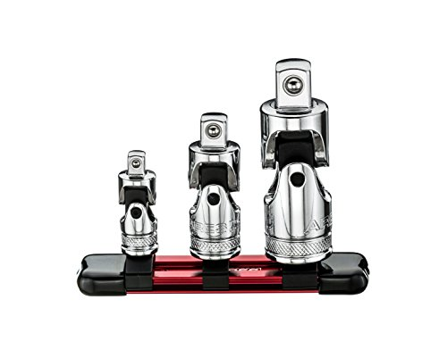 3-Piece Universal Joint Socket Set | ARES 70197 | Includes ¼