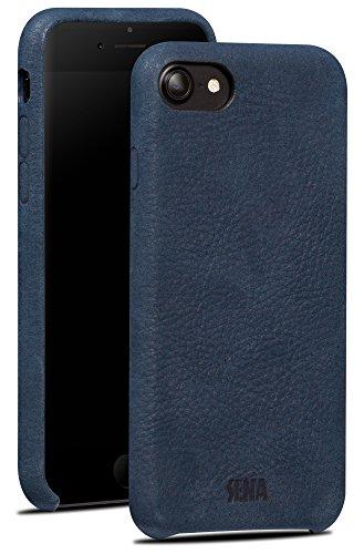 - Sena Leatherskin Premium All Leather Drop Safe Snap On Case iPhone 6, 7, 8 - Denim