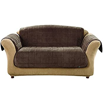 Amazon Com Sure Fit Deluxe Pet Cover Loveseat Slipcover