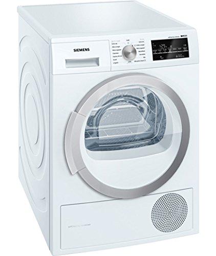 Siemens WT47W490FF Libera installazione Carica frontale 9kg A++ Bianco asciugatrice