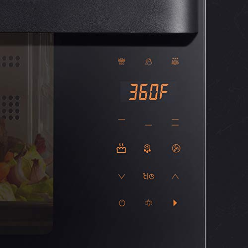 AUG Convection Steam Grill Oven, 0.9 Cu. Ft. Smart Household Countertop Combi Steamer with 8 Cooking Modes, Matte Black Stainless Steel by AUG (Image #7)