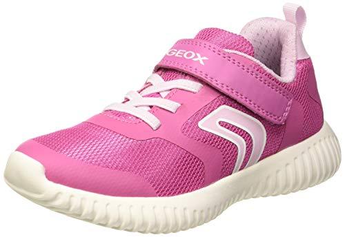 Para Waviness Zapatillas Fuchsia J Girl A pink Niñas Geox C8230 wp4qFx