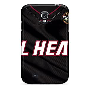 Great Hard Phone Cases For Samsung Galaxy S4 (Gfu3402FFsR) Unique Design Stylish Miami Heat Pictures