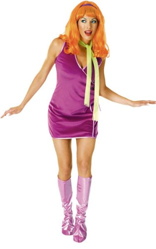 Scooby Doo Deluxe Daphne Costume, Purple, One Size (Daphne Costume)