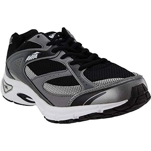 Avia Men's Avi-Execute Running Shoe, Steel Frost Grey/White, 13 M US
