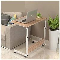 Yükseklik Ayarlı Tekerlekli Laptop Sehpası Ofis-Ev Çalışma Masası