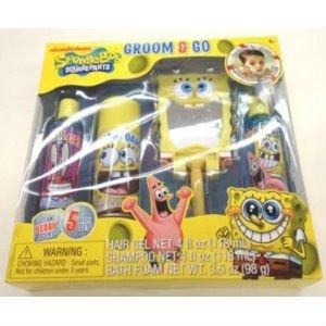 (Gift Set Spongebob Squarepants Groom And Go Bath And Play)