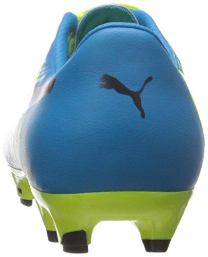 Puma evoPOWER 1.3FG Jr Zapatillas (poco Kid/Big Kid) Amarillo/Negro (Safety Yellow/Black)