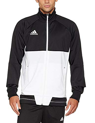 Homme D'entraînement Adidas Jacket Training Noir Tiro17 Veste blanc 6xnTaU