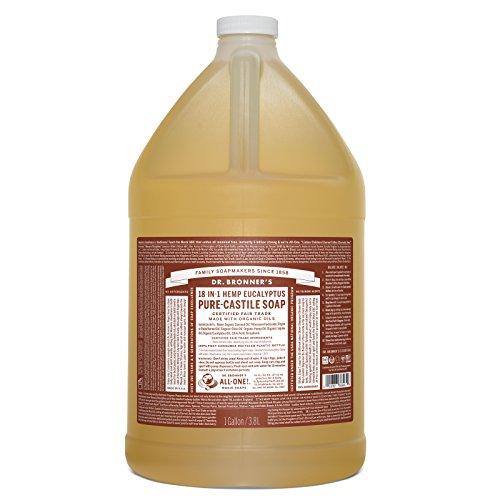 Dr. Bronner's Pure-Castile Liquid Soap - Eucalyptus, 1 ()