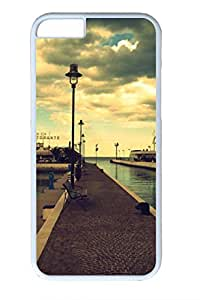 City Sights 05 Slim Soft Cover for iPhone 6 Plus Case ( 5.5 inch ) PC White Cases