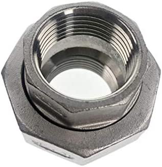 Thread Specification : DN15 YOCO 1//8-4 BSPT Female Threaded Union Stainless Steel 304 Cast Pipe Fitting Class 150
