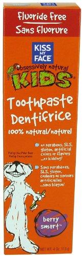 Face Kids Berry (Kmf Kids Tp W/O Floride Size 4z Kmf Kids Toothpaste Fluoride Free Berry Smart 4z)