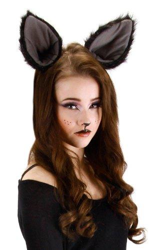 [Elope Deluxe Oversized Kitty Ears] (Halloween Costumes Cat Ears)