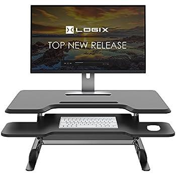 Amazoncom Logix Gear 36 Height Adjustable Standing Desk
