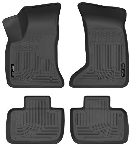 2011 Charger Awd - Husky Liners Fits 2011-19 Chrysler 300 AWD, 2011-19 Dodge Charger AWD Weatherbeater Front & 2nd Seat Floor Mats