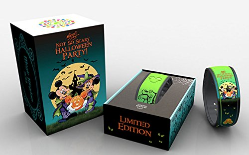 Link It Later Disney 2014 Mickey's Not So Scary Halloween Party Exclusive Mickey & Minnie Mouse Limited Edition 5000 MagicBand Magic Band -