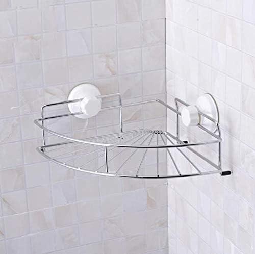 バスルームラック壁掛けサクションカップ型パンチフリーバスルームキッチン LCSHAN