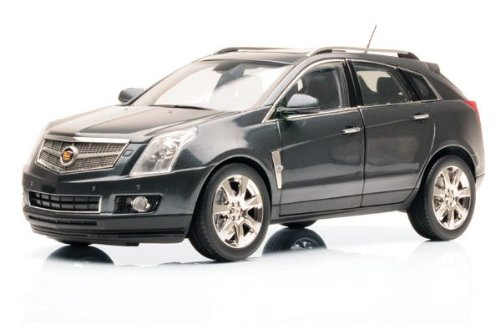 2010 CADILLAC SRX CROSSOVER in Grey Flannel Diecast Model Car in 1:18 Scale by Kyosho