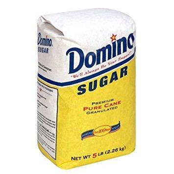 (DOMINO GRANULATED PURE CANE WHITE SUGAR 4 LB BAG)