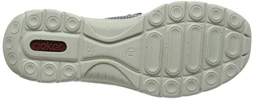 Scarpa Sneaker Da Donna Rieker (l3277-01) Nera