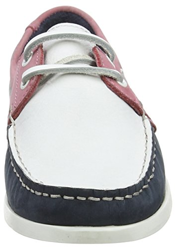 Chatham Women's Willow Boat Shoes Blue (Navy White Coral 007) pictures for sale genuine online release dates sale online clearance from china L1PoaeCkT