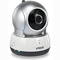 VTech VC931 Wireless Wi-Fi IP Camera with with Remote Access App, 720p HD, Remote Pan & Tilt, Free Live Streaming & Automatic Infrared Night Vision