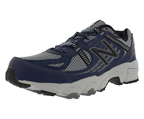 Cheap New Balance Men's T410v4 Grey/Navy Athletic Shoe