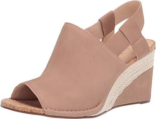 CLARKS Women's Spiced Bay Praline Leather 9.5 B ()