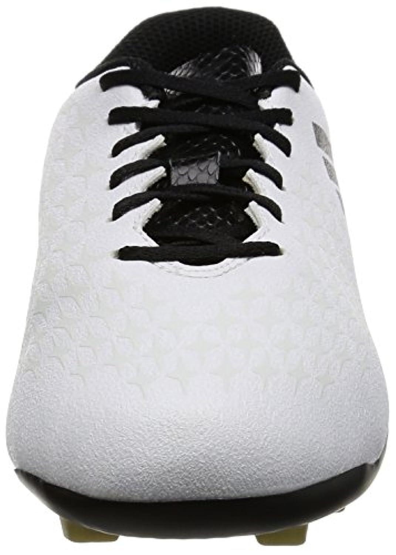 Adidas Boys X 16.4 Fxg Football Boots, White (Ftwr White/Core Black/Gold Met), 1 Child UK 33 EU