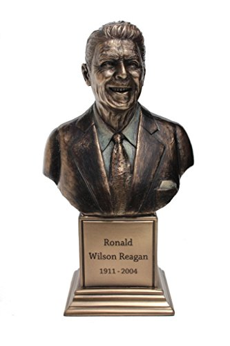 (Ronald W. Reagan Bust Statue Cold Cast Bronze 7 1/2 Inch Tall)