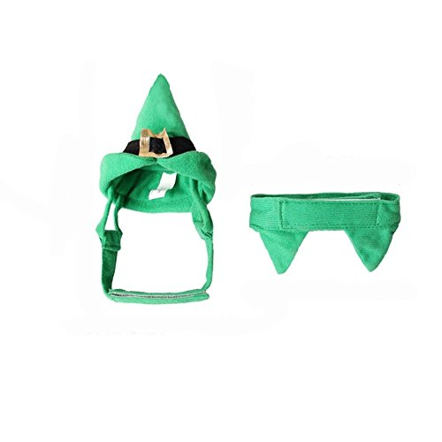 Da.Wa Halloween hat Costume Party Pet Dog Costume Clothes Cosplay with Hat for dog and Cat ()