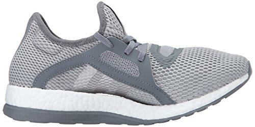 Adidas Ydeevne Kvinders Pureboost X Løbesko Vista Grå S15 / Metallisk Sølv / Mid Grå S14 FBZRn8Dr4v